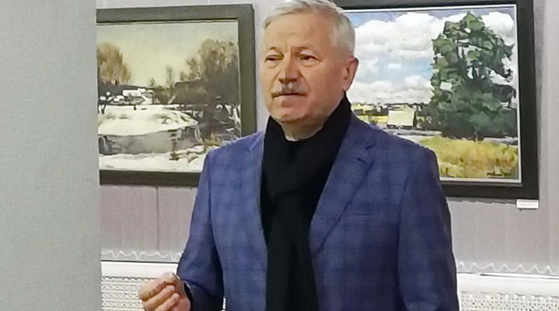Кастусь Качан в Барановичах